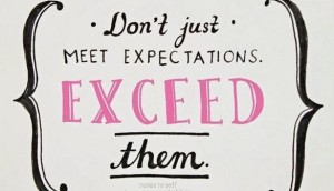 Meeting Exceeding And Resetting Customer Expectations At Your